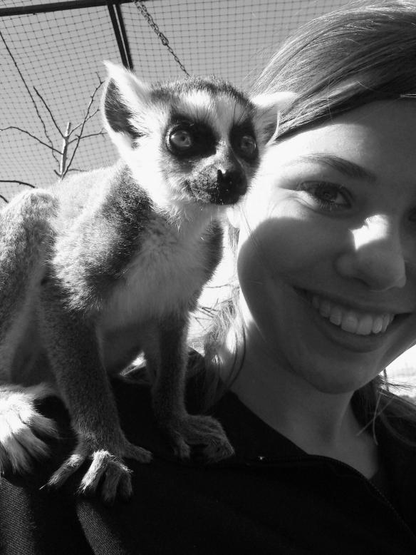 Jag och lemur