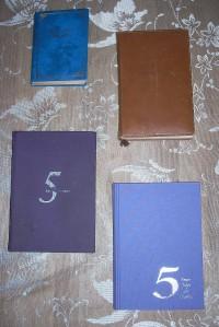 Femårsdagböcker