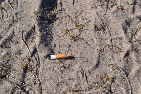 Vårens första cigarett
