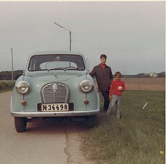 Bilen med ett B