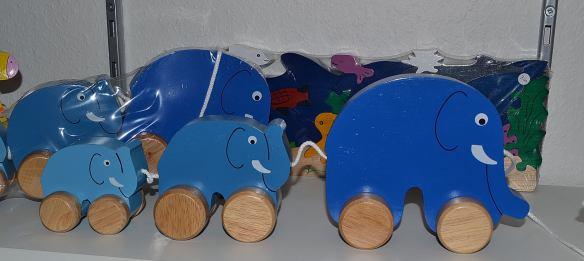 Blå elefanter