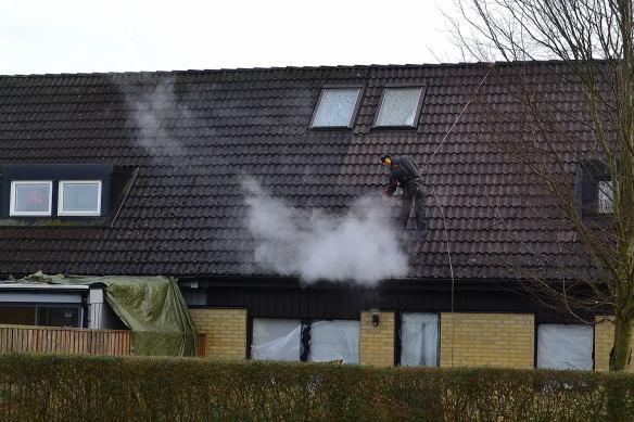 Pyroman fasadklättrare